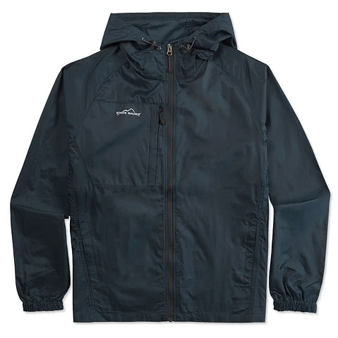 Eddie Bauer Full-Zip Hooded Packable Jacket