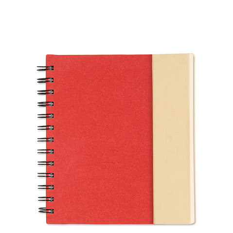 Lock-it Spiral Notebook w/ Pen
