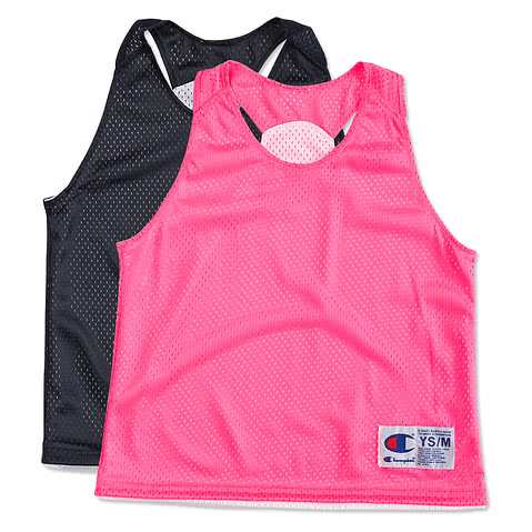 Champion Youth Girls Reversible Practice Pinnie