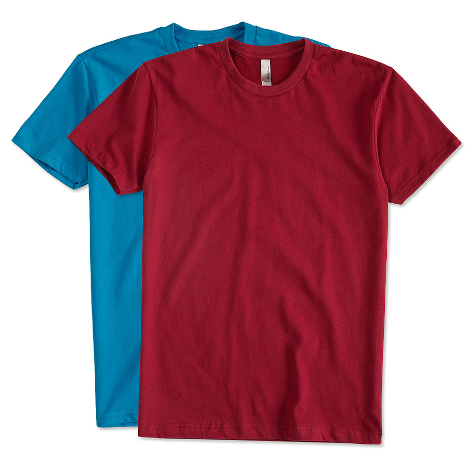 Custom next level sueded t shirt design short sleeve t for T shirts online custom
