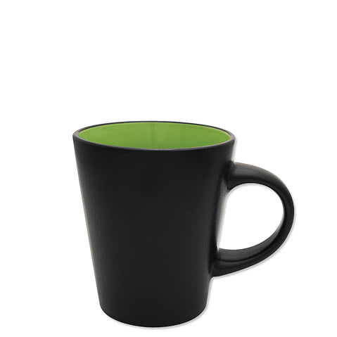 12 oz. Ceramic Two-Tone Noir Mug