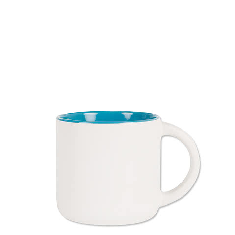 14 oz. Ceramic Two-Tone White Minolo Mug