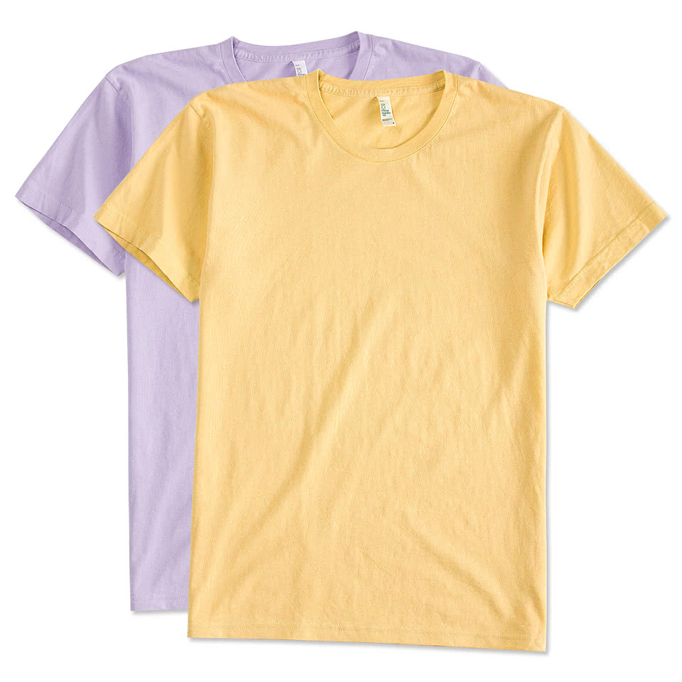 Custom canada american apparel power washed t shirt for Made t shirts online
