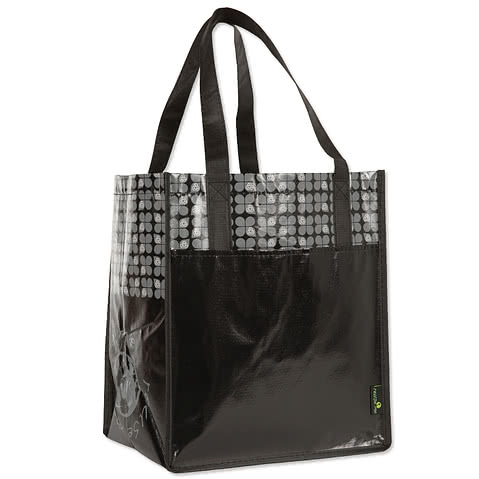 Large Laminated Shopper Tote