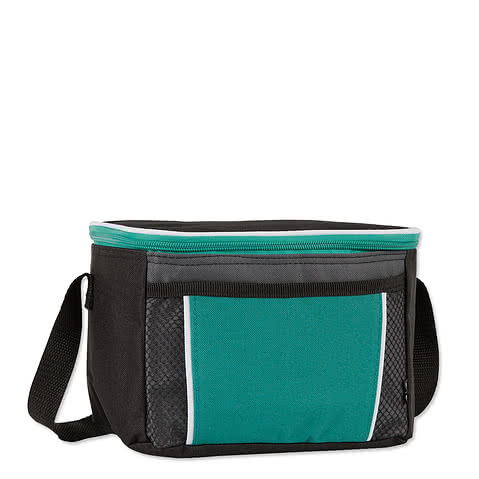 KOOZIE ® Contrast 6 Can Lunch Cooler