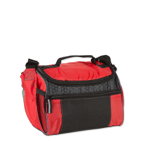 Colorblock Zip-Top 6 Can Lunch Cooler
