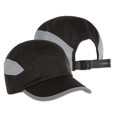 Big Accessories Mesh Performance Running Hat
