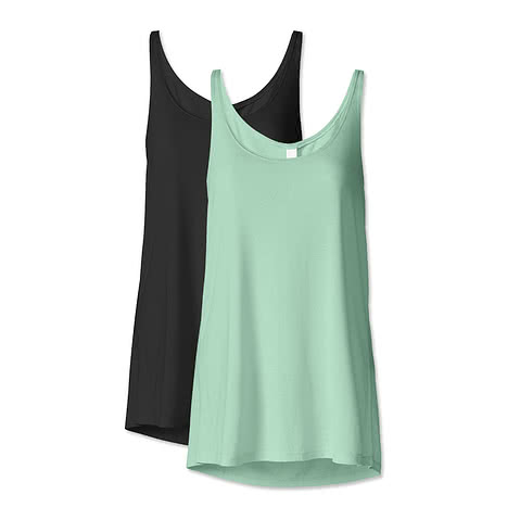 Bella Ladies Flowy Tank
