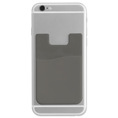 Adhesive Silicone Cell Phone Wallet