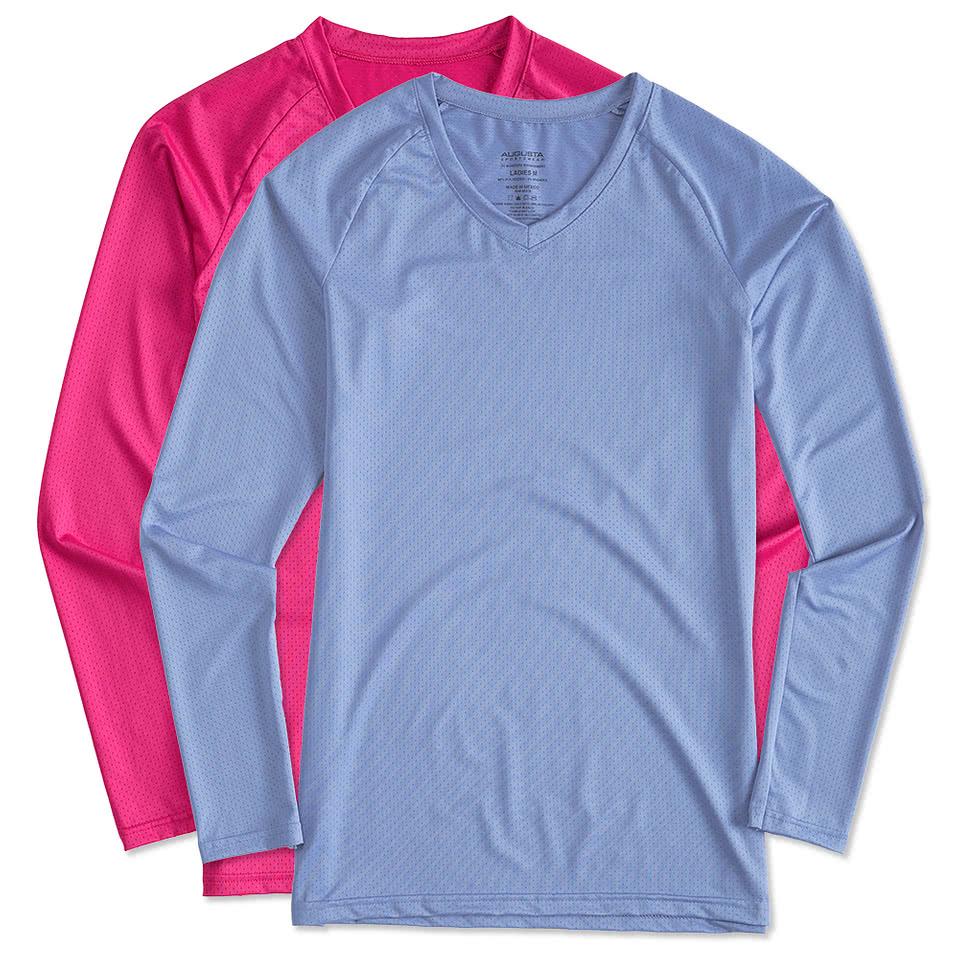 Augusta Juniors Long Sleeve Volleyball Jersey ...