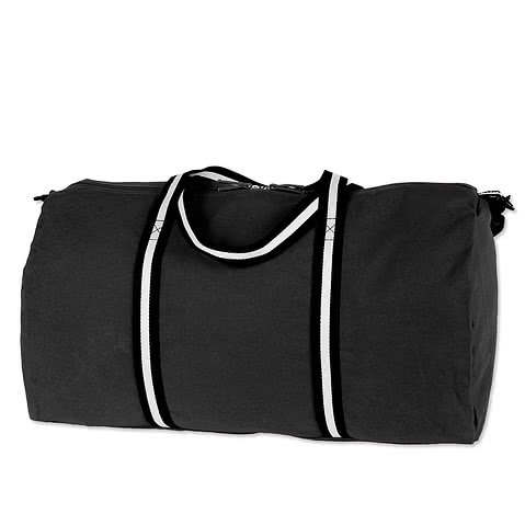 Large Cotton Weekender