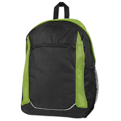 Mesh Stripe Backpack