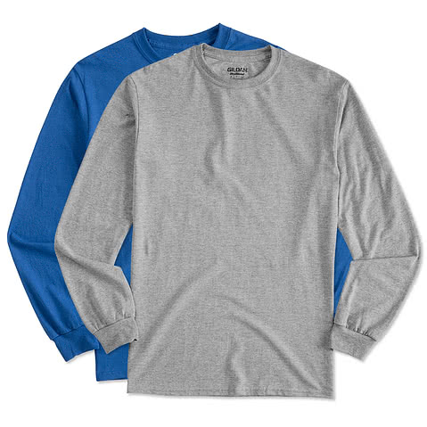 Gildan 50/50 Long Sleeve T-shirt