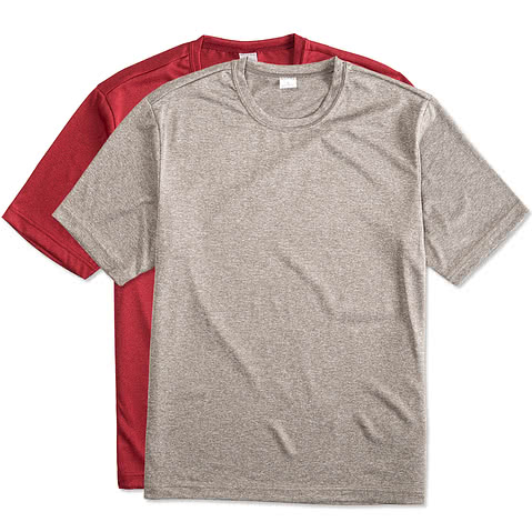Sport-Tek Heather Performance Shirt