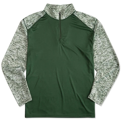 Badger Lightweight Training 1/4 Zip Performance Shirt