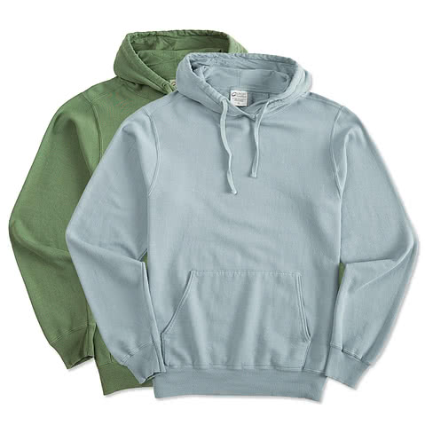 Port and Company Pigment-Dyed Hooded Sweatshirt