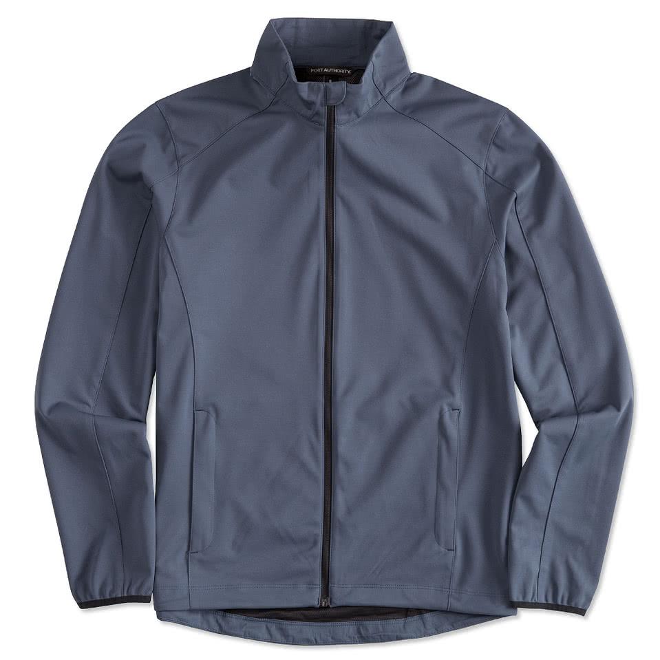 Custom Port Authority Lightweight Active Soft Shell Jacket