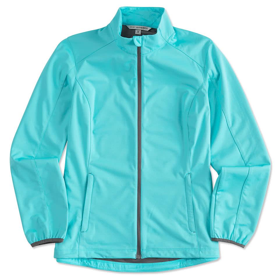 Custom Port Authority Ladies Lightweight Active Soft Shell Jacket ...