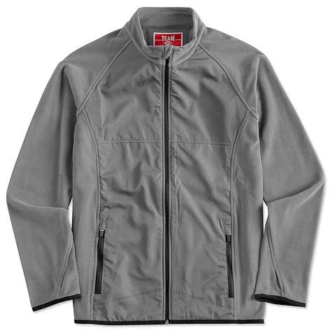 Team 365 Hybrid Microfleece Full-Zip Jacket