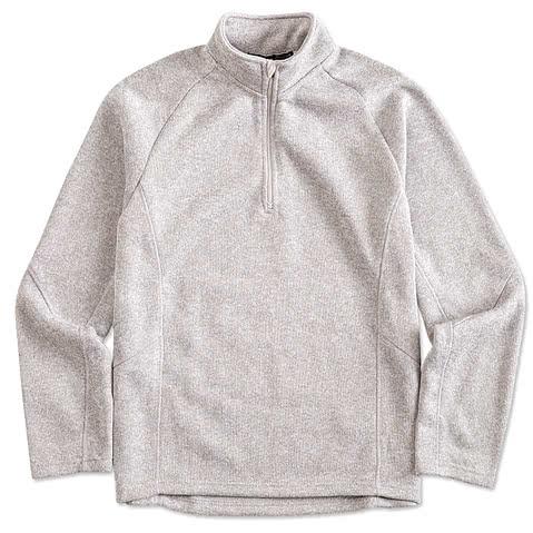 Devon & Jones 1/4 Zip Sweater Fleece Pullover