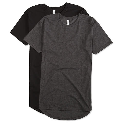 Canvas Urban Longer Length T-shirt