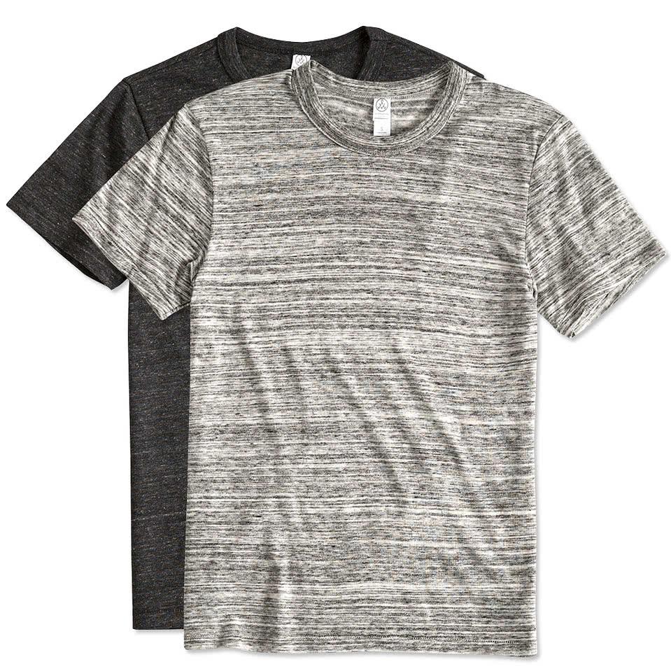 Design t shirt europe - Alternative Apparel Eco Tri Blend T Shirt