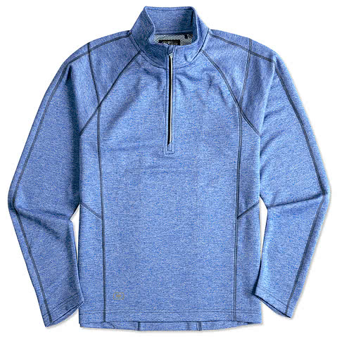 Ogio Endurance Reflective Heather Performance 1/4 Zip Pullover