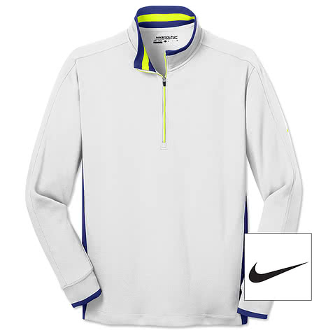 Nike Golf Dri-FIT Half-Zip Performance Pullover