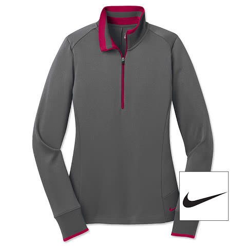 Nike Golf Ladies Dri-FIT Half-Zip Performance Pullover