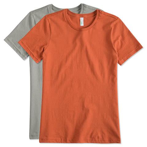 American Apparel Ladies Organic Jersey T-shirt