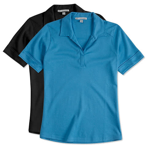Port Authority Women's Silk Touch Interlock Jersey Polo
