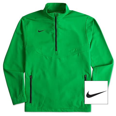 Nike Golf Half-Zip Windbreaker