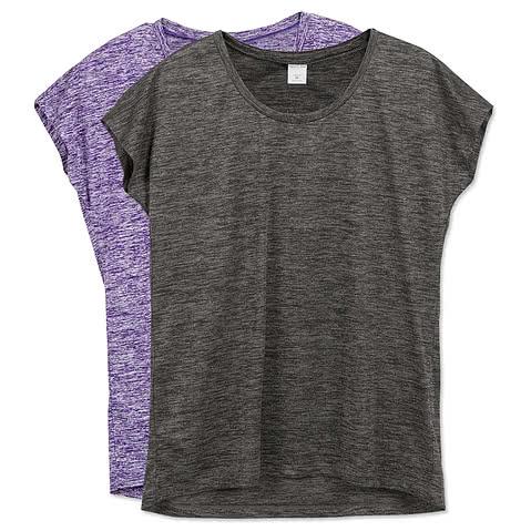 Sport-Tek Ladies Electric Heather Performance Shirt