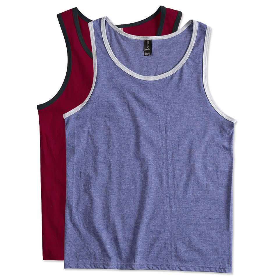Men's Tank Tops - Sleeveless T-Shirts & Reversible Mesh Tank Tops ...
