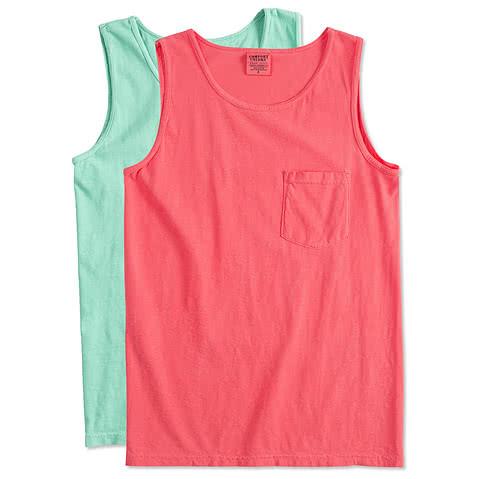 Comfort Colors 100% Cotton Pocket Tank