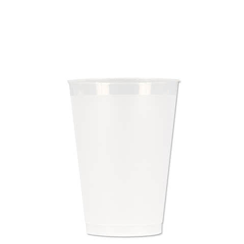 12 oz. Frosted Plastic Stadium Cup