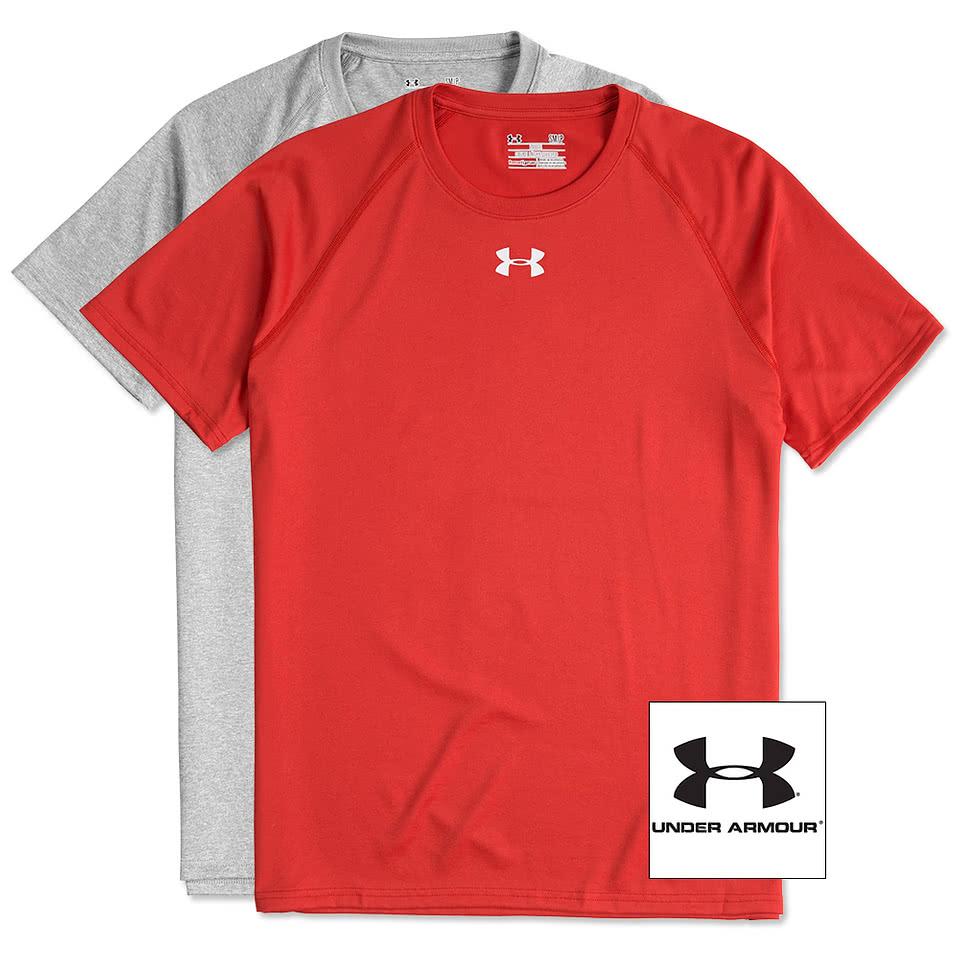 Design tshirt online free shipping - Under Armour Locker Performance Shirt