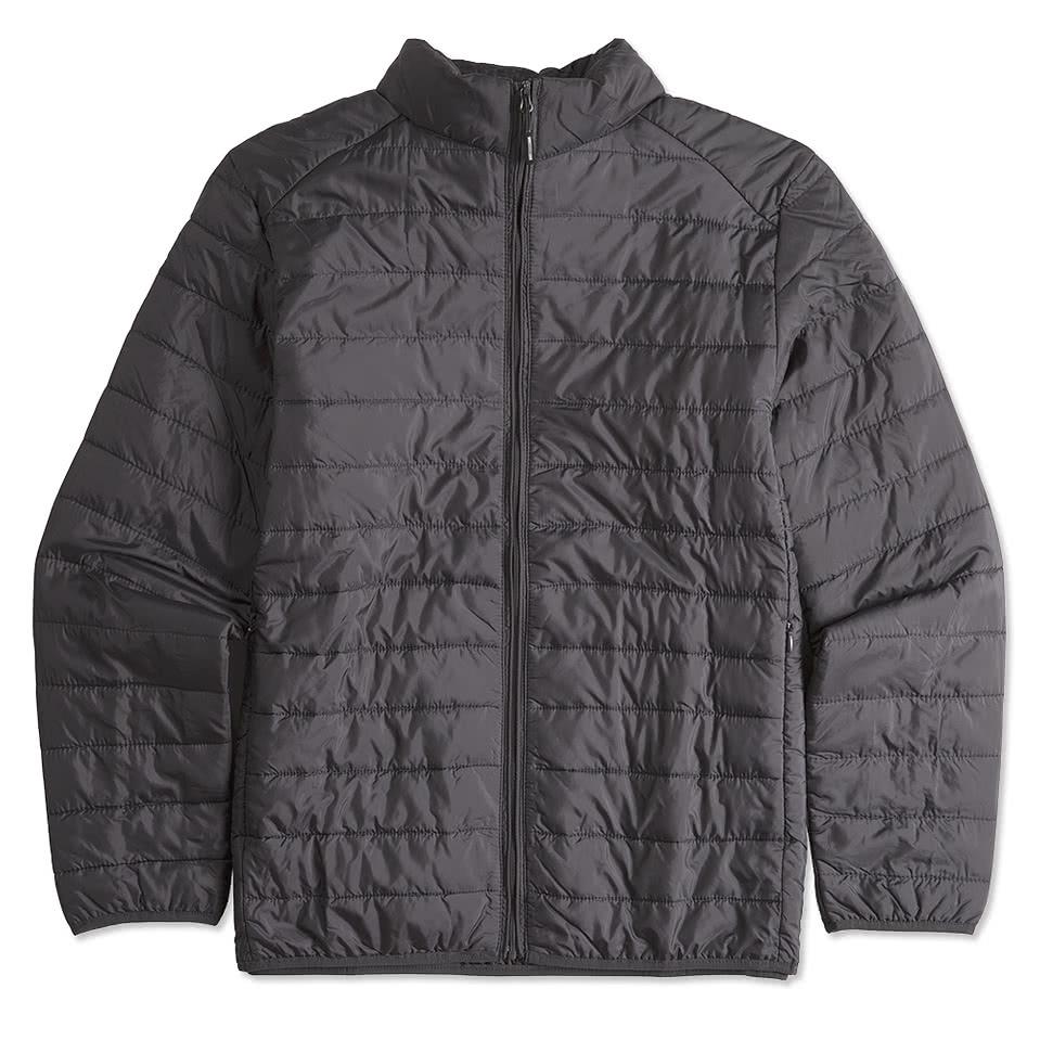 Custom Core 365 Insulated Packable Puffer Jacket Design