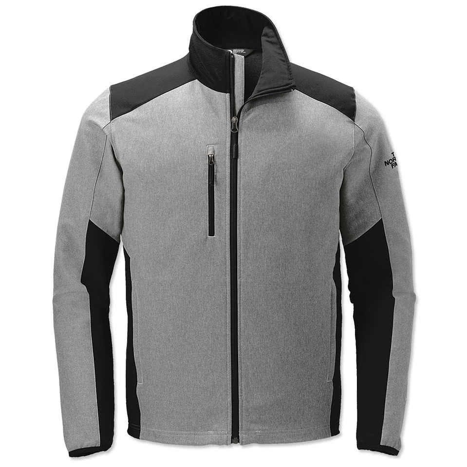 Design custom embroidered the north face tech stretch soft