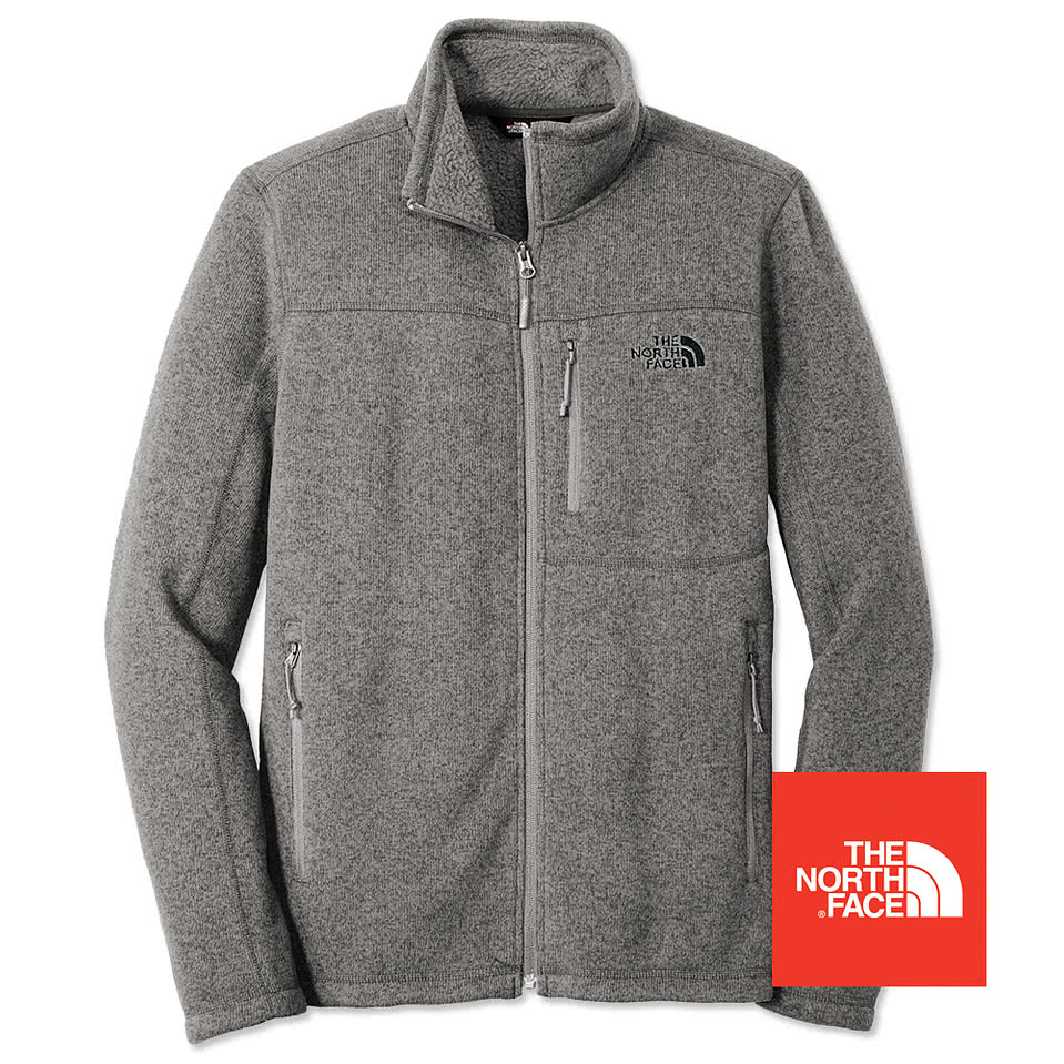 Design custom embroidered the north face sweater fleece