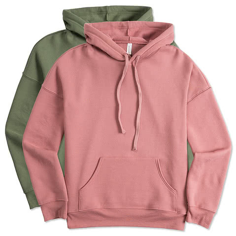 Bella + Canvas Ultra Soft Drop Shoulder Pullover Hoodie
