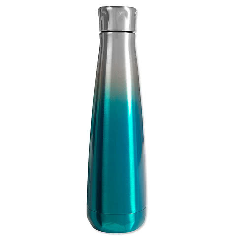 16 oz. Svelte Stainless Steel Ombre Insulated Water Bottle
