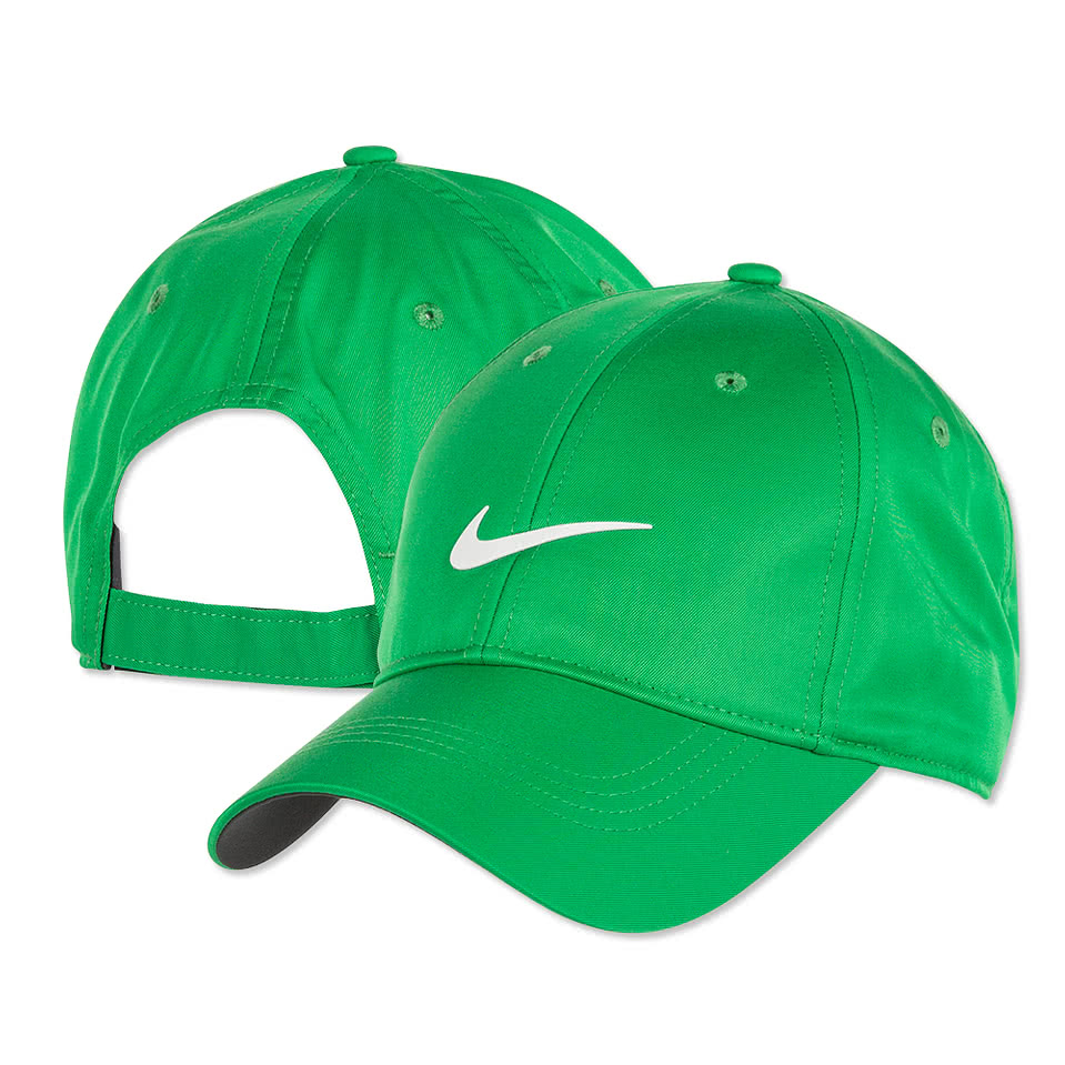 Custom Nike Dri-Fit Swoosh Front Cap - Design Premium Hats Online at ...