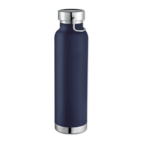 22 oz. Thor Copper Vacuum Insulated Water Bottle