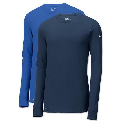 Nike Dri-FIT Long Sleeve Performance Blend Shirt