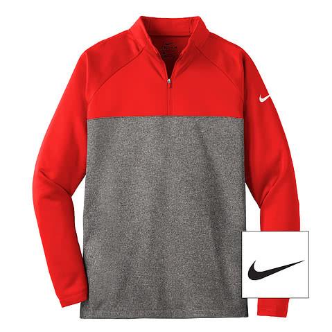 Nike Therma-FIT Color Block Half Zip Fleece