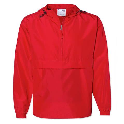 Champion Packable Half Zip Windbreaker Jacket