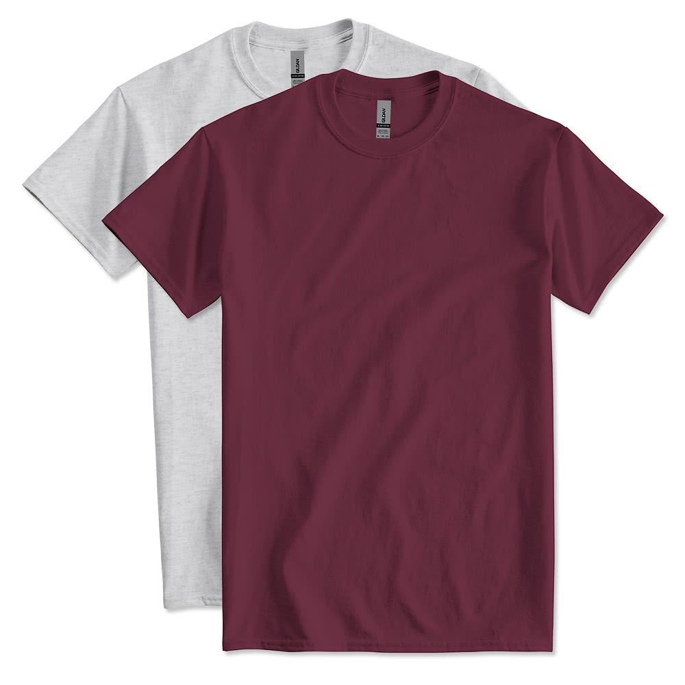 Design custom printed gildan ultra cotton t shirts online for Gildan t shirt printing