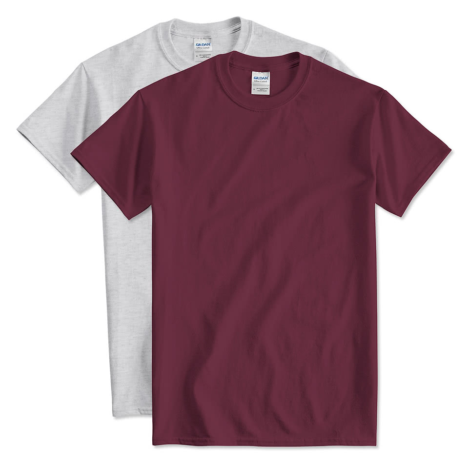 A T-shirt (or t shirt, or tee) is a style of unisex fabric shirt named after the T shape of its body and sleeves. It normally has short sleeves and a round neckline, known as a crew neck, which lacks a collar. T-shirts are generally made of a stretchy, light and inexpensive fabric and are easy to clean.
