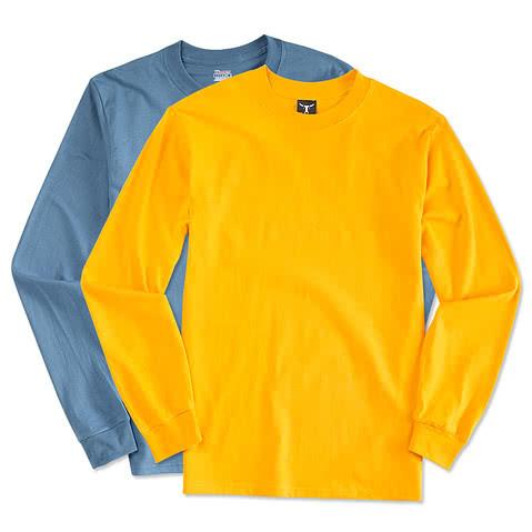 Hanes Beefy Long Sleeve T-shirt